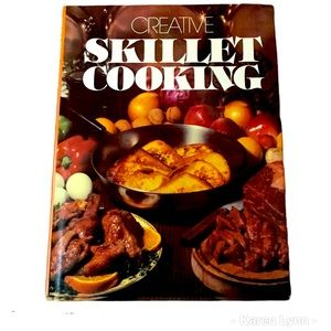 Creative Skillet Cooking 1970's Vintage Cookbook